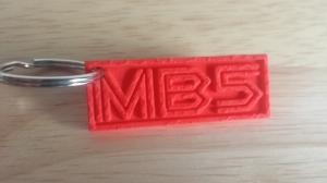 MB5 Keychain